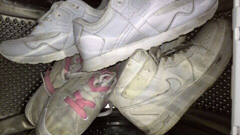 slenge du KK Kan Sko maskinen Inkluderende Hvite hvite sko i UqtaExw1